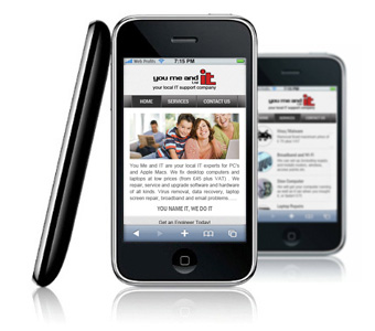 Mobile Websites for Apple Android Windows