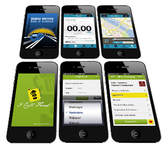Mobile interface design  web apps
