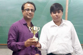 DNC the 1st runners up Award  for 'The Coolest App' at MoMo Ahmedabad