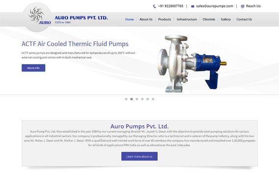 Auro Pumps Pvt. Ltd