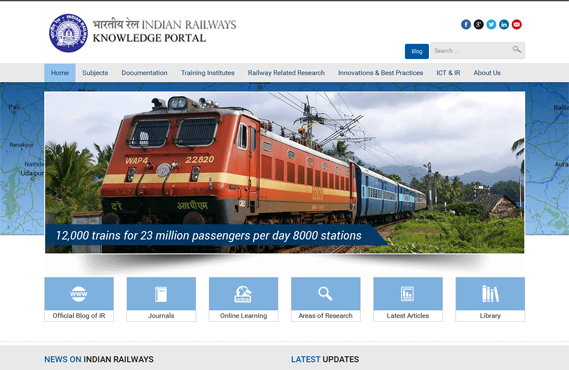 Indian Railways Knowledge Portal